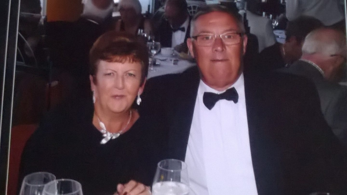 Customers, including Marilyn and John McDowall, were left high and dry when the cruise operator went into administration