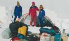 Anne and Giles Kershaw camping in Antarctica with Mike McDowell