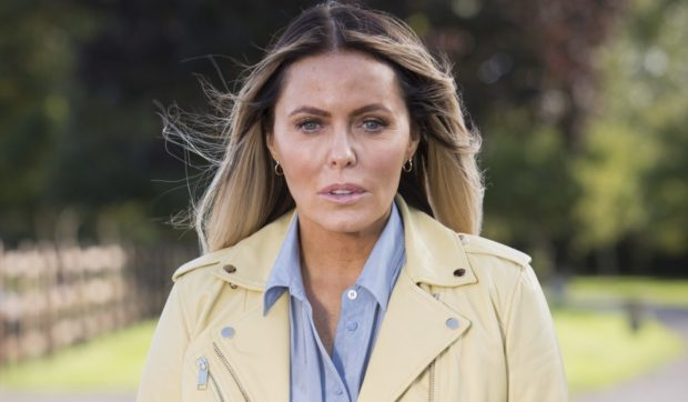 Patsy Kensit says a visit to Scotland is on the cards post-lockdown.