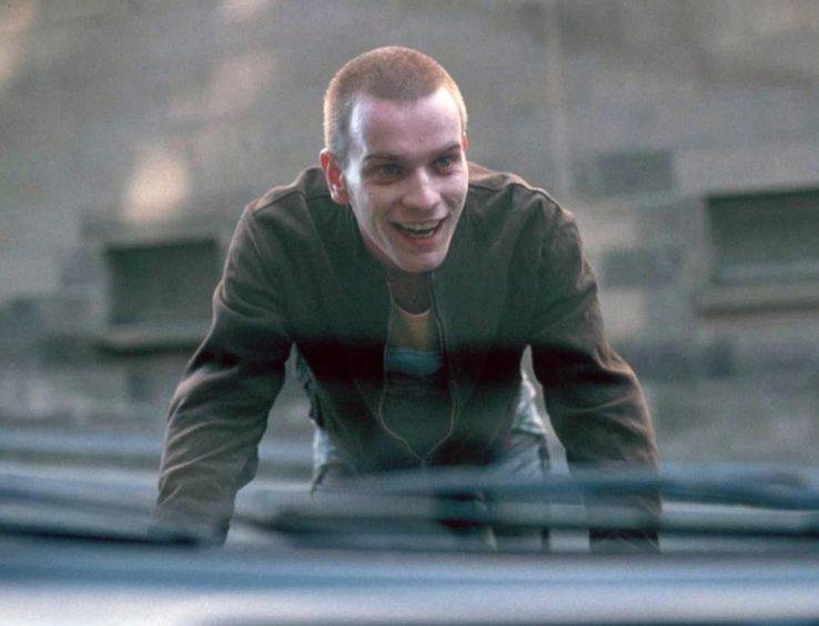 Ewan McGregor in 1995 film Trainspotting