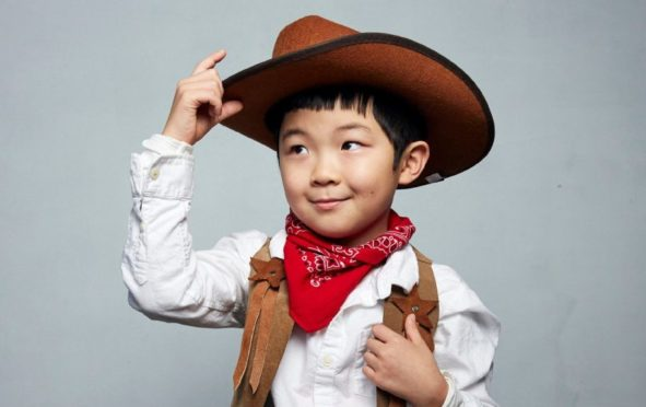 Alan Kim has star quality even though he's only eight