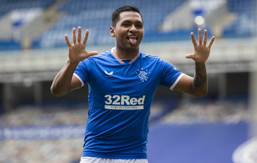 Having wrapped up title No. 55 Alfredo Morelos will be keen to help Rangers secure a League and Cup double