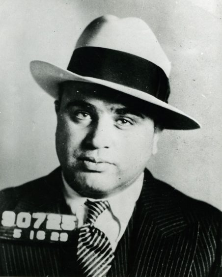 Al Capone's 1930 mugshot