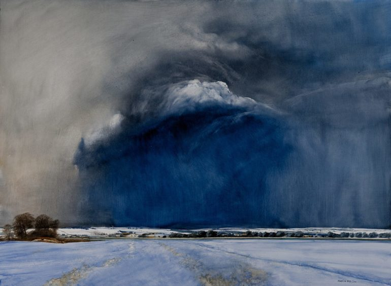 Approaching Storm by James Morrison