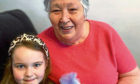 Sandra Potter who has suffered from Long Covid and her grand-daughter, Haylee.