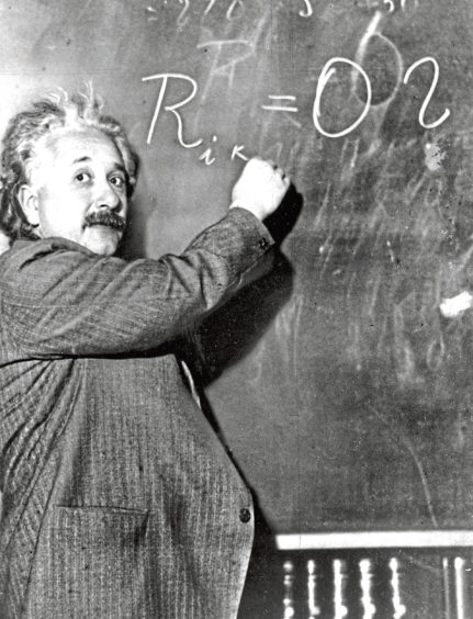 Einstein in 1931