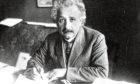 Genius Albert Einstein was inspired by British scientists