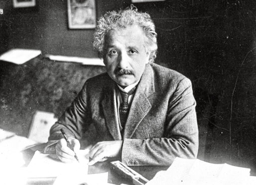 Genius Albert Einstein was inspired by British scientists