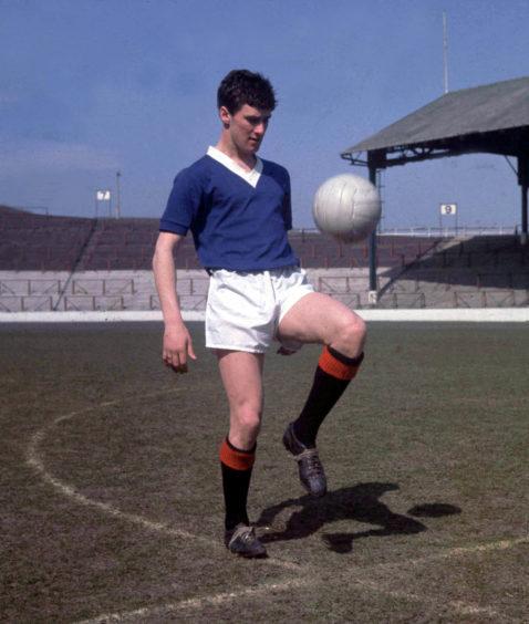 Rangers legend Jim Baxter
