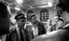 Country star Johnny Cash visits San Quentin prison in 1969