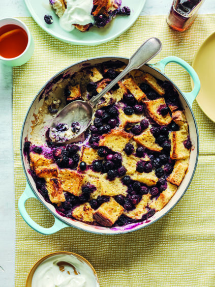 Suzanne's Blueberry French Toast Bake