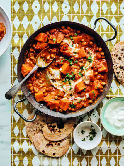 Suzanne's Chickpea and Sweet Potato Curry recipe