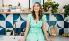 Kate Spiers in the kitchen of her gorgeous Glasgow flat