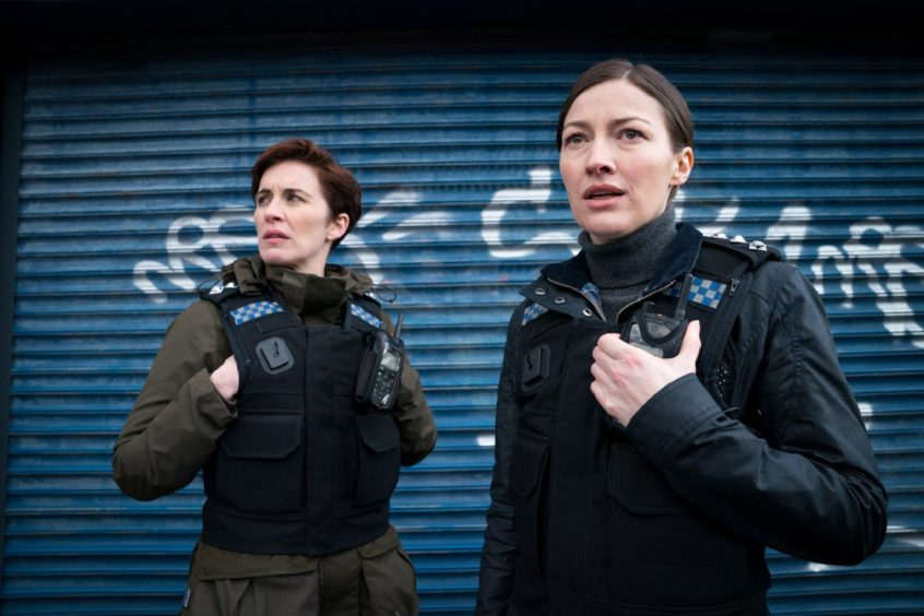 Vicky McClure and Kelly Macdonald in series six of Line of Duty