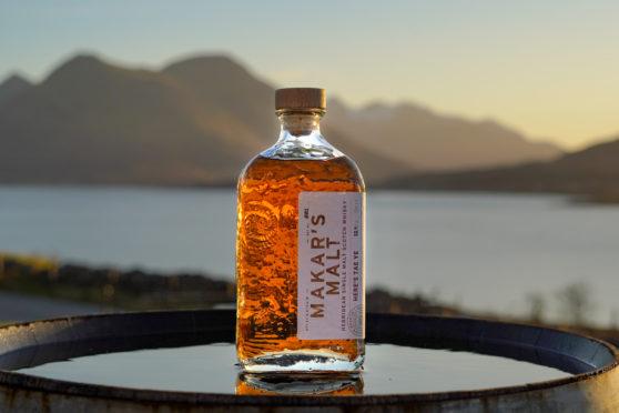 A bottle of Makar's Malt