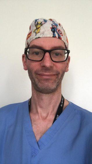 Surgeon David Laraway