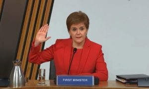 Nicola Sturgeon: 'Absurd' to suggest malice or plot against Alex Salmond