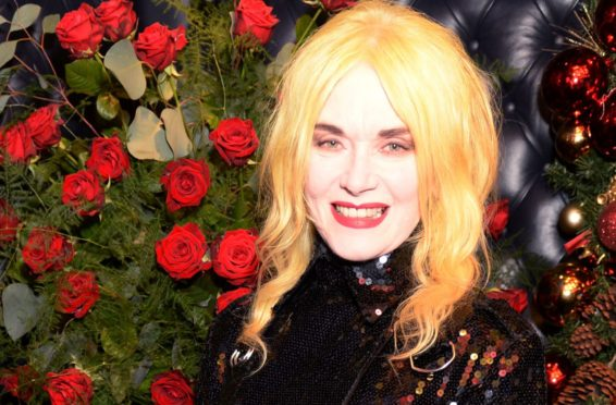 Fashion designer Pam Hogg