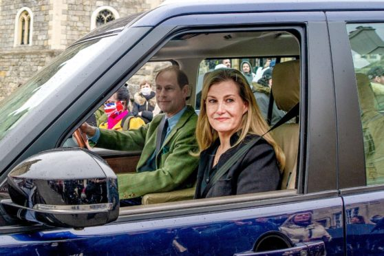 Prince Edward and his wife Sophie