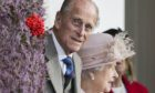 Prince Philip and the Queen at Braemar