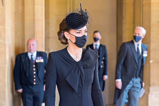 Prince Philip funeral: Duchess pays touching tribute to Duke of Edinburgh through choice of jewellery