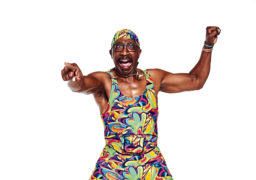 "Clubbing with Mr Motivator: ""Learn to unplug the computer. Learn to enjoy the quality of life. Learn to enjoy the time you now have"""