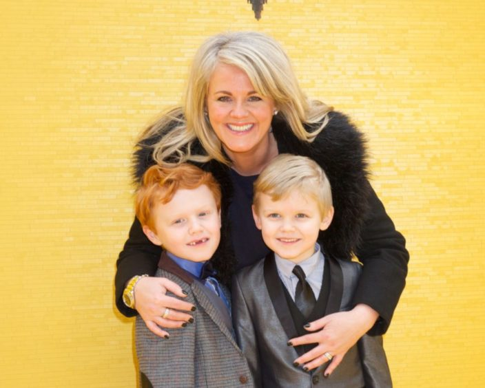 Sally and her twin sons