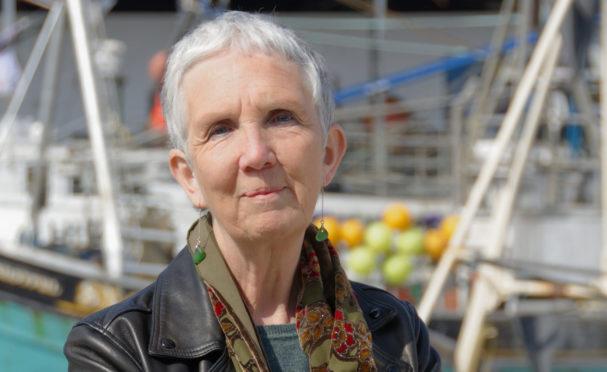 Shetland author Ann Cleeves.