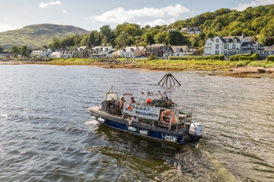 The Community of Arran Seabed Trust conduct research around the seas of the island.