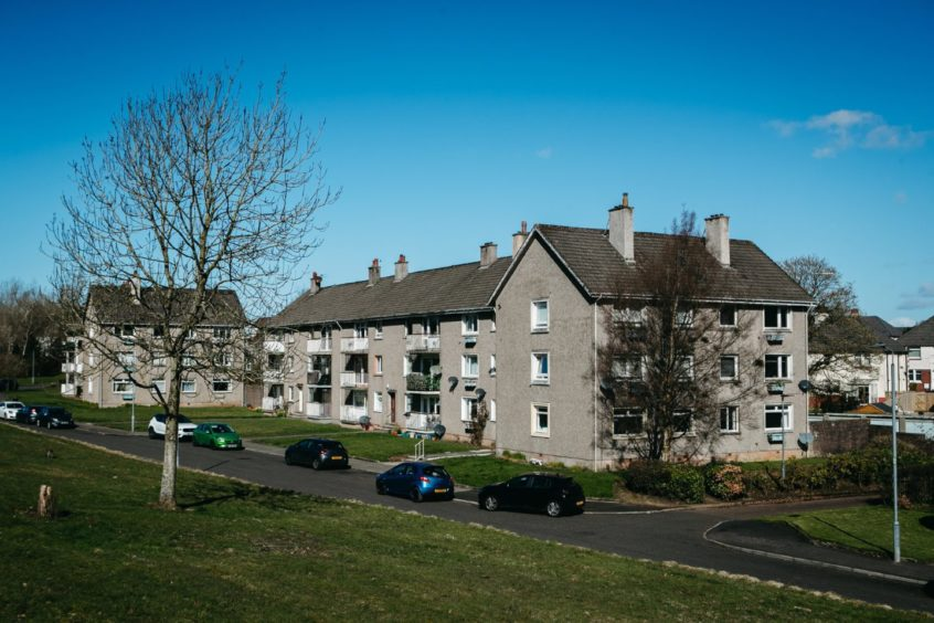 The flat in East Kilbride