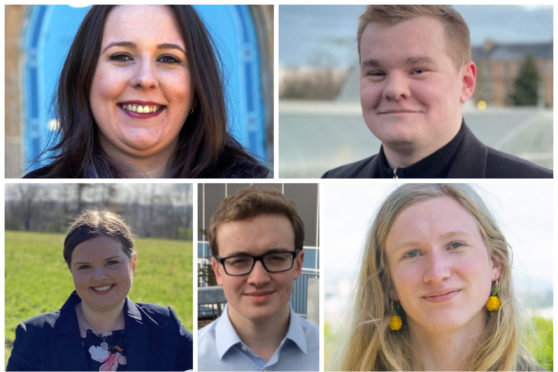 The voice of young Scotland: Five of the election's youngest candidates on the issues that matter most to their generation