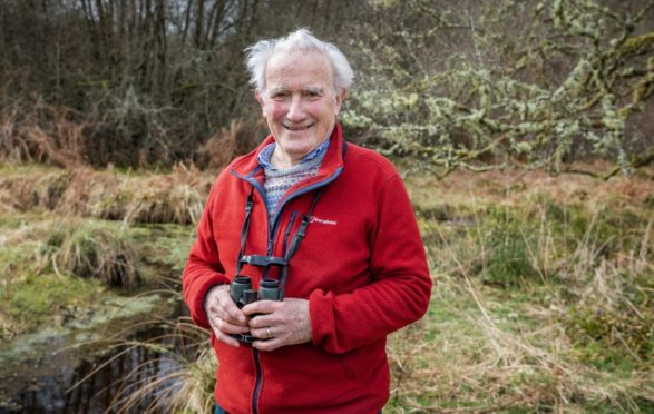 Roy Dennis has helped reintroduce many species including sea eagles and beavers to Scotland