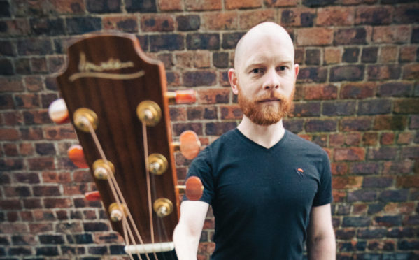Singer-songwriter Seán Gray