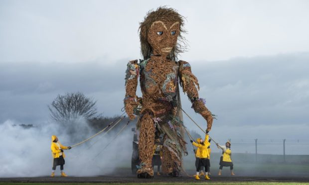 Storm, Scotland's largest puppet, will be a centrepiece of the Fringe By The Sea festival in North Berwick, this summer.