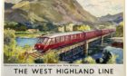 This poster of the West Highland Line went for £600