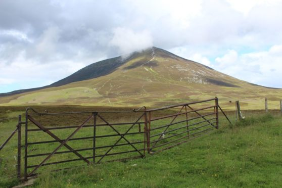 The imposing Carn Liath, east of Blair Atholl in Perthshire, is one of three Munros that make up Beinn a' Ghlò – a substantial Highland challenge
