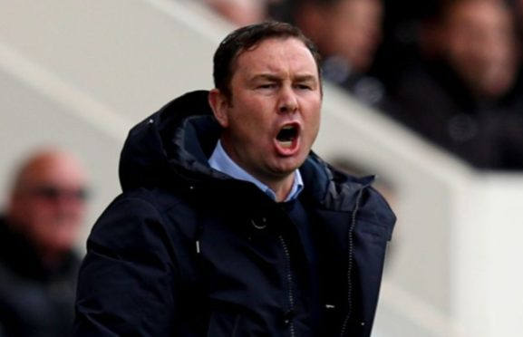 Former Aberdeen and Motherwell striker Derek Adams will be hoping to secure promotion for Morecambe to League One tomorrow