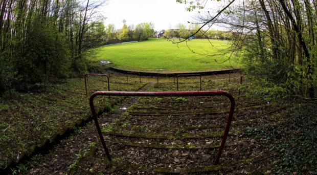 Cathkin Park, former home of Third Lanark