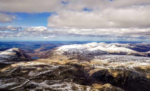 Snow-capped mountains in the Cairngorms of Highland Scotland captured the imagination of famed nature writer Nan Shepherd