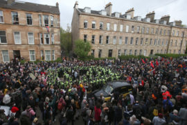 Sturgeon: Home Office needs to reflect after Glasgow detentions spark protests