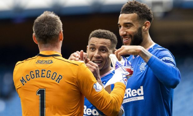 Rangers dominate the Player of the Year nominations with Allan McGregor, James Tavernier, Connor Goldson and Steven Davis  but captain Tavernier is the main man for Kenny Dalglish