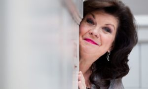 Elaine C Smith at the Abode Hotel, Glasgow in 2016