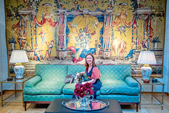 Lulu Lytle, owner of interiors company Soane Britain, who is said to have inspired the                            opulent makeover of No 11.