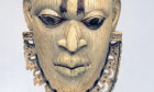 A Benin face covering dating from the 16th Century