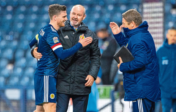 Steve Clarke's delight has been plain to see this season