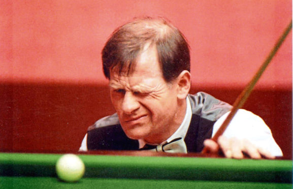 Alex 'Hurricane' Higgins was seen as the wild man of snooker in the 1980s