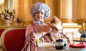 Queen Charlotte, who is played by Golda Rosheuvel in Bridgerton.