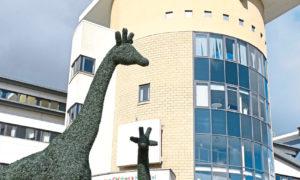 Royal Aberdeen Childrens Hospital.
