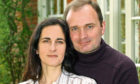 Convicted TV quiz cheat Charles Ingram with wife Diana in 2003
