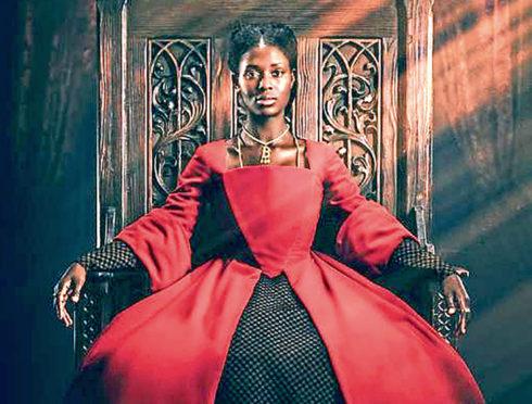 Jodie Turner-Smith as Anne Boleyn.